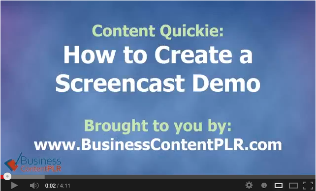 How to Create Screencast Demo Videos