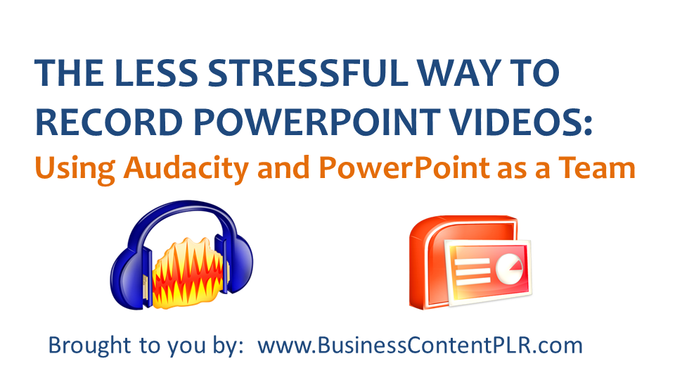 How to add audio narration to PowerPoint for videos