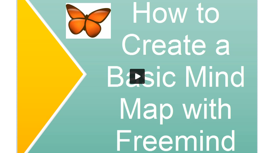 Create a Basic Mind Map in Freemind
