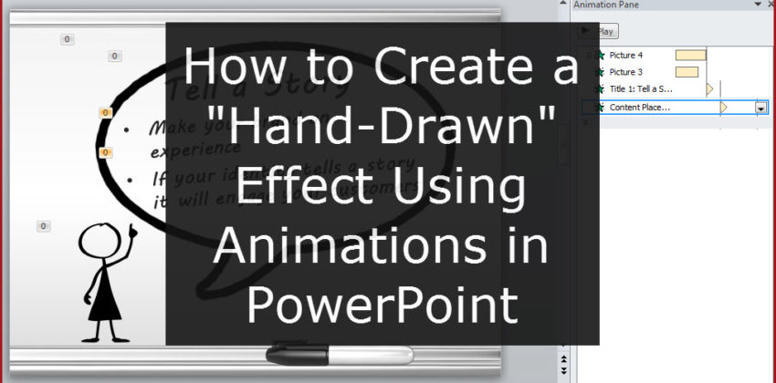 How to Create a 'Hand-Drawn' Effect in PowerPoint