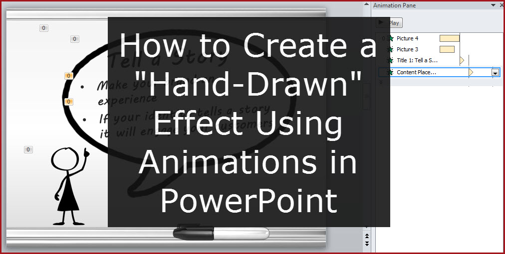 How to create a whiteboard effect powerpoint tips no theres no actual hand involved like in a whiteboard video but that can be distracting at times toneelgroepblik Choice Image