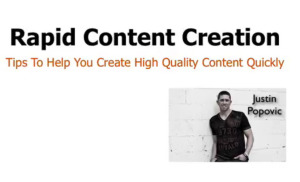 How to Use PLR to Create Quick Videos