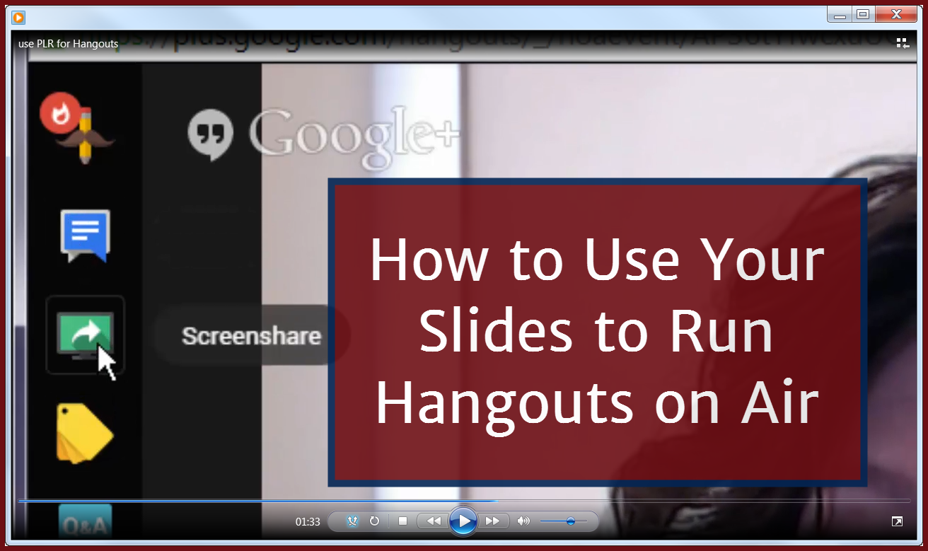 How to Use Your Slides to Run Hangouts on Air