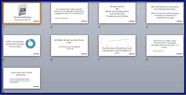 Email Marketing Essentials - Promo Slideshow