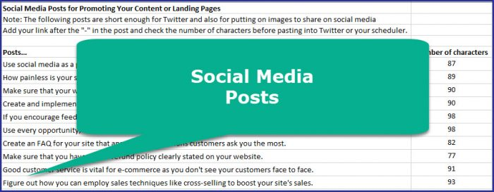 Get More Sales from Your Online Store - Social Media Posts