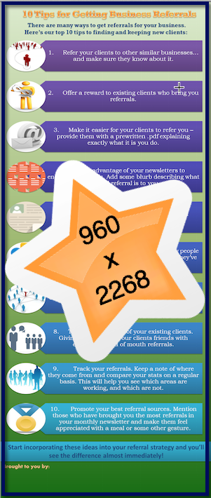 The Referral Marketing Machine - Infographic