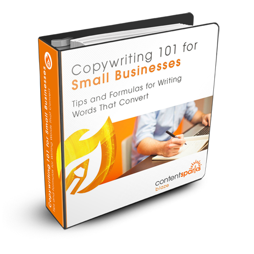 Content Sparks Product Cover - Copywriting 101