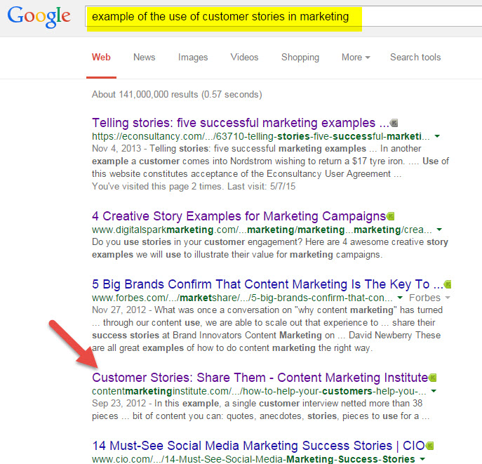 SearchGoogleCustomerStories