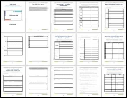 LaserFocus Workbook 1