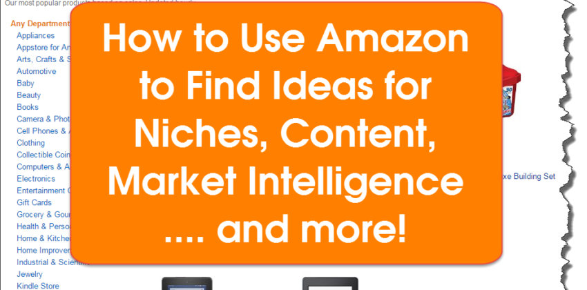 How to Use Amazon for Niche Market Research