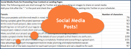 Project Management Made Easy - Social Media Posts