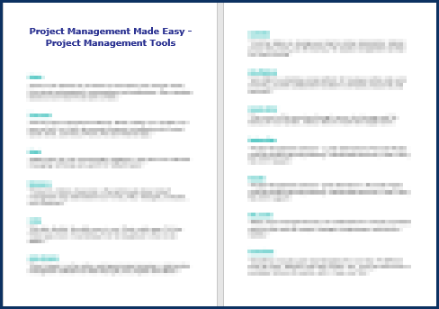 Project Management Made Easy - Tools