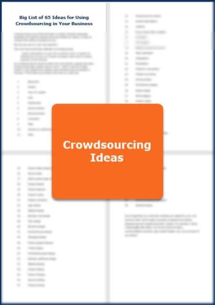 Crowdsourcing Big List of Ideas
