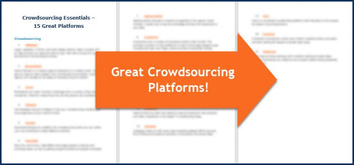 Crowdsourcing Essentials - Platforms