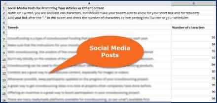 Crowdsourcing Social Media Posts
