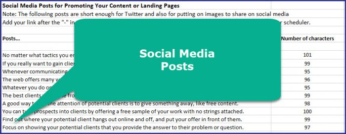Get More Clients - Social Media Posts