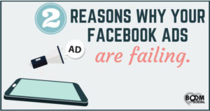 why Facebook ads fail