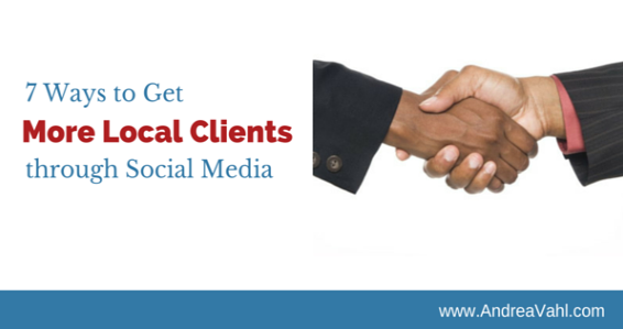 Get more clients through social media