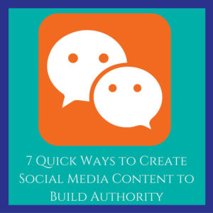 How to Create Social Media Content Quickly