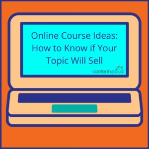 Online Course Ideas that Sell