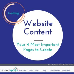 Website Content Creation - Important Pages