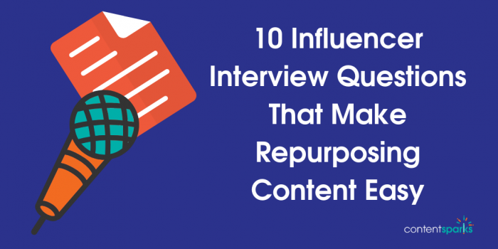 2185612264 10 Influencer Interview Questions That Make Repurposing Content Easy [Cheat  Sheet]