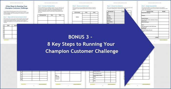 How to Run a Champion Customer Challenge - 8 Key Steps to Running Your Champion Customer Challenge