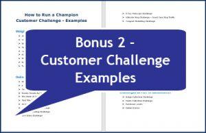 How to Run a Champion Customer Challenge - Bonus Customer Challenge Examples