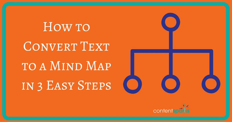 How to Convert Text to a Mind Map in 3 Easy Steps