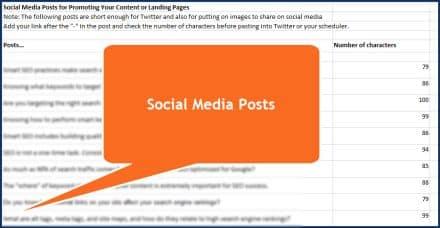 SEOBasics - Social Media Posts