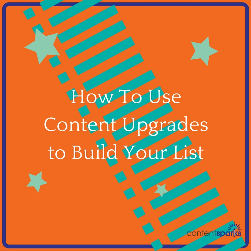 how to use content upgrades
