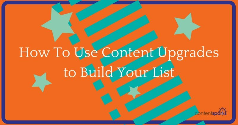 content upgrade email list