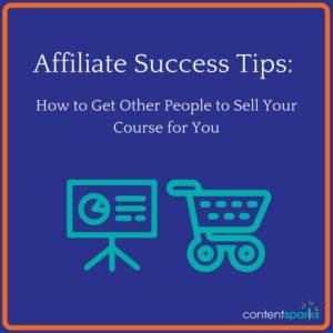 affiliate success tips