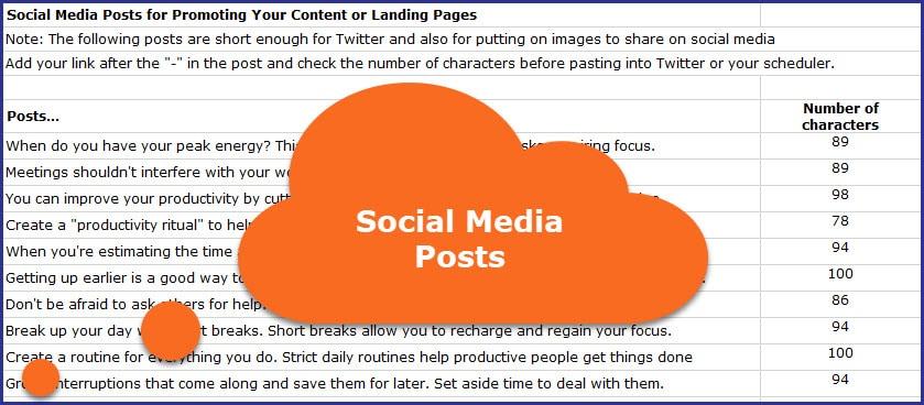 Maximize Your Productivity - Social Media Postd
