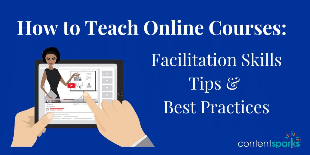 Blog Teach Online Courses Facilitation Skills 1