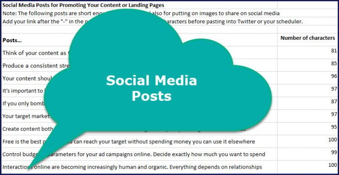Content Visibility Boosters - Social Media Posts