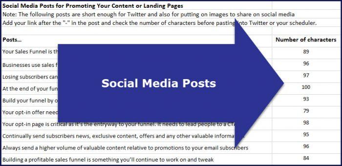 Sales Funnel Magic - Social Media Posts