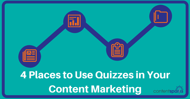 4 Place to Use Quizzes in Content Marketing…. that aren't JUST for fun!