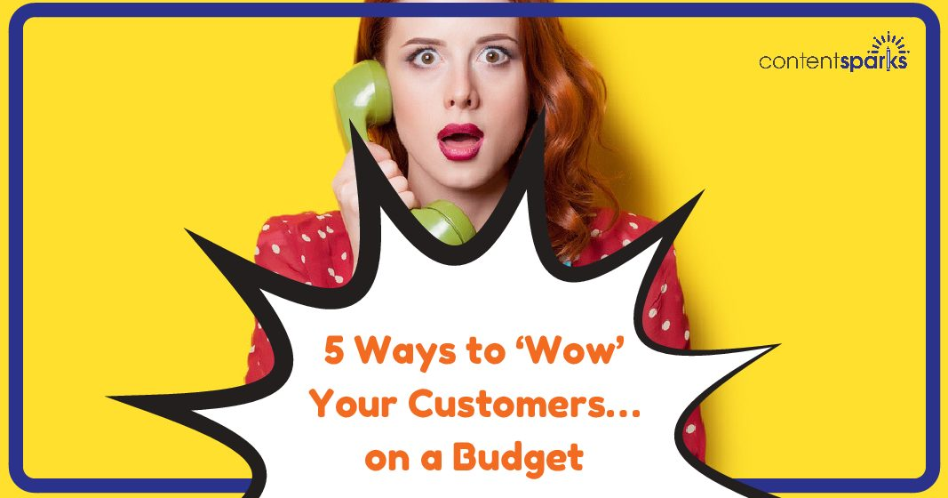 5 Ways to 'Wow' Your Customers… on a Budget