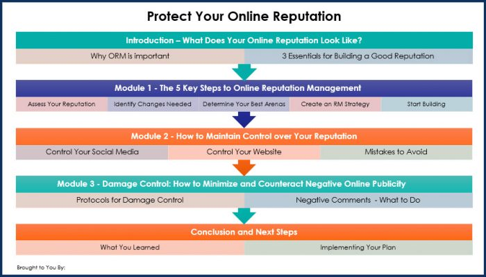 Protect Your Online Reputation - Oberview Infographics