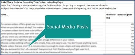 On Camera Video Basics - Social Media Posts
