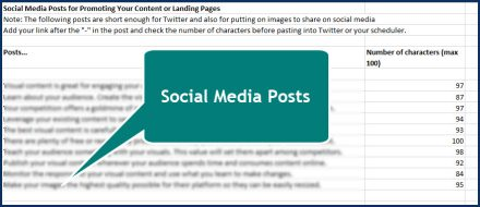 Attract and Engage Your Audience with Visuals - Social Posts