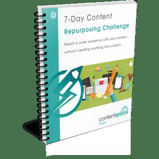 content repurpose challenge