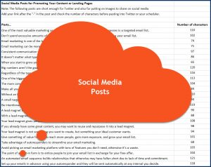 How to Build an Email List from Scratch - Social Media Posts