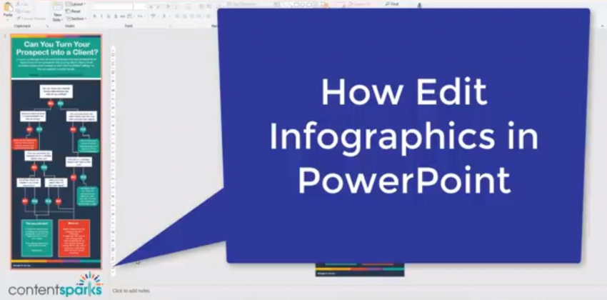 How to Edit Your PowerPoint Infographics [Video Tutorial]