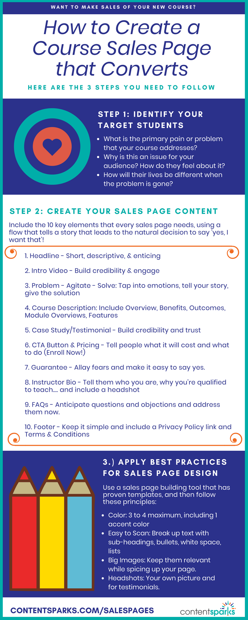 How to Create a High-Converting Sales Page for Your Course