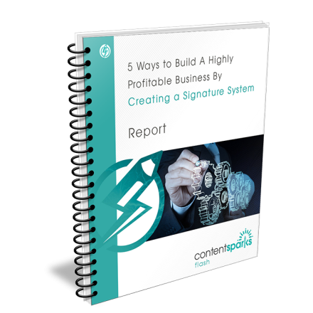 5 Ways to Build A Highly Profitable Business By Creating A Signature System