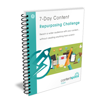 7 Day Content Repurposing Challenge