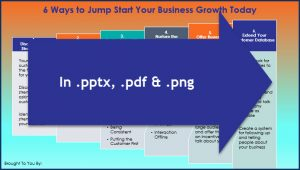 Create Your Business Growth Plan - 6 Ways Infographic