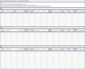 Content Management Bootcamp - Content Calendar